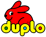 bunny and duplo logo
